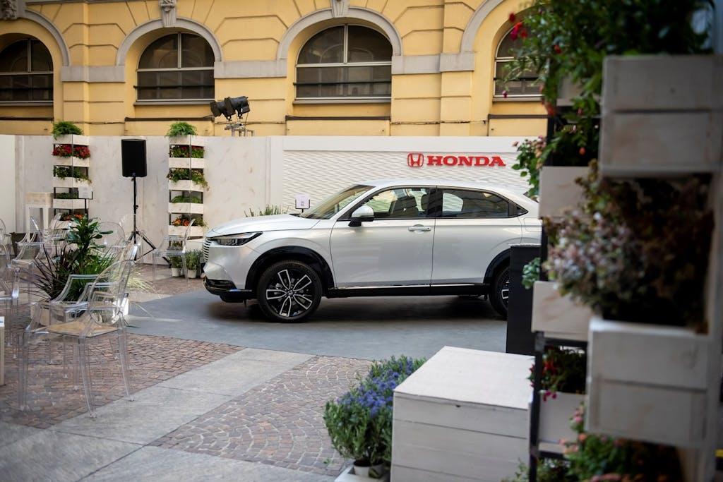 Honda HR-V, a Milano tra design e sostenibilità