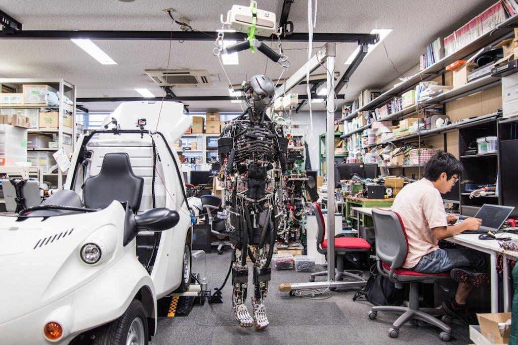 Kengoro robot umanoide ricerca tecnologica
