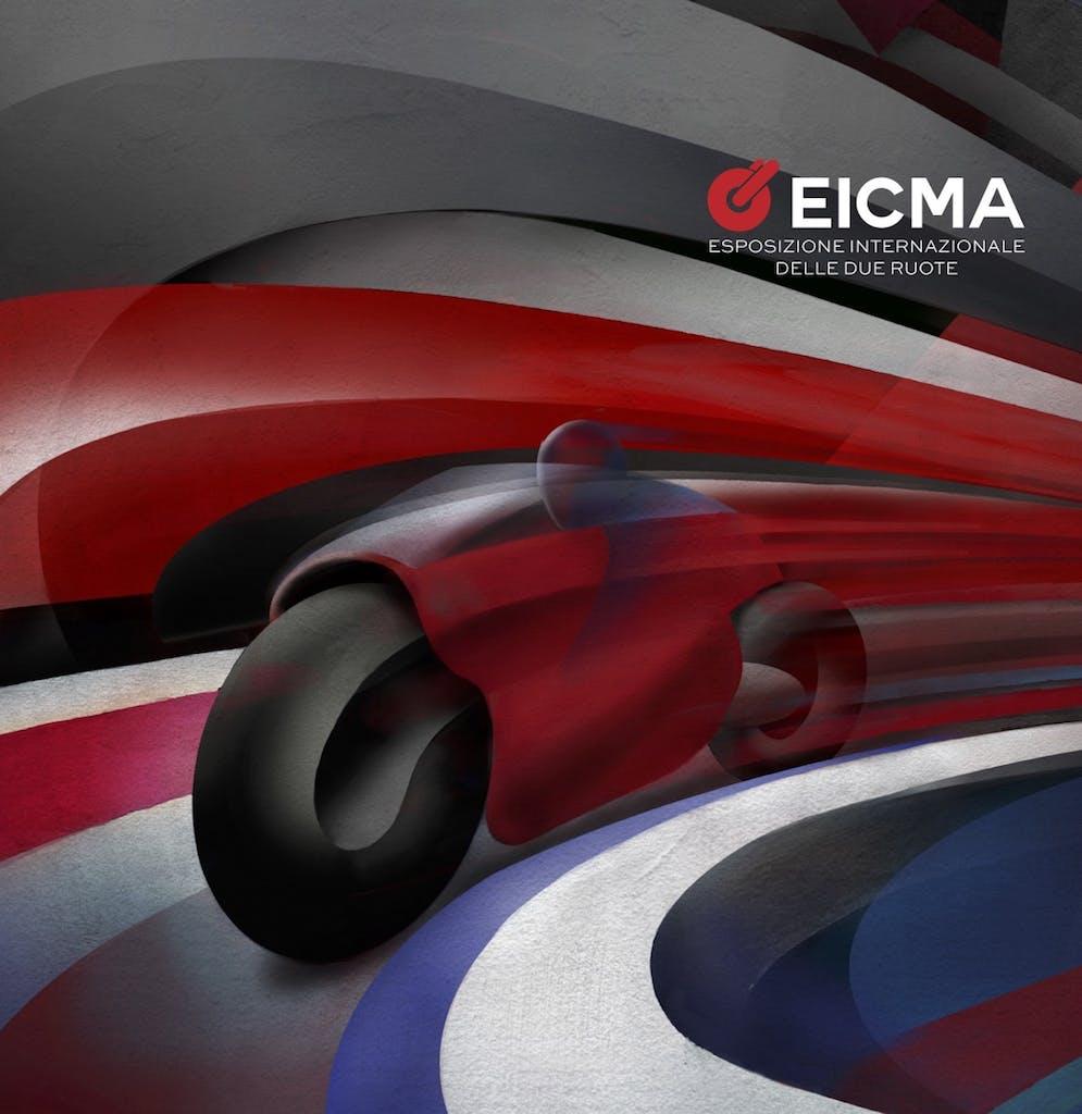 EICMA 2021, la nuova campagna pubblicitaria si ispira al Futurismo