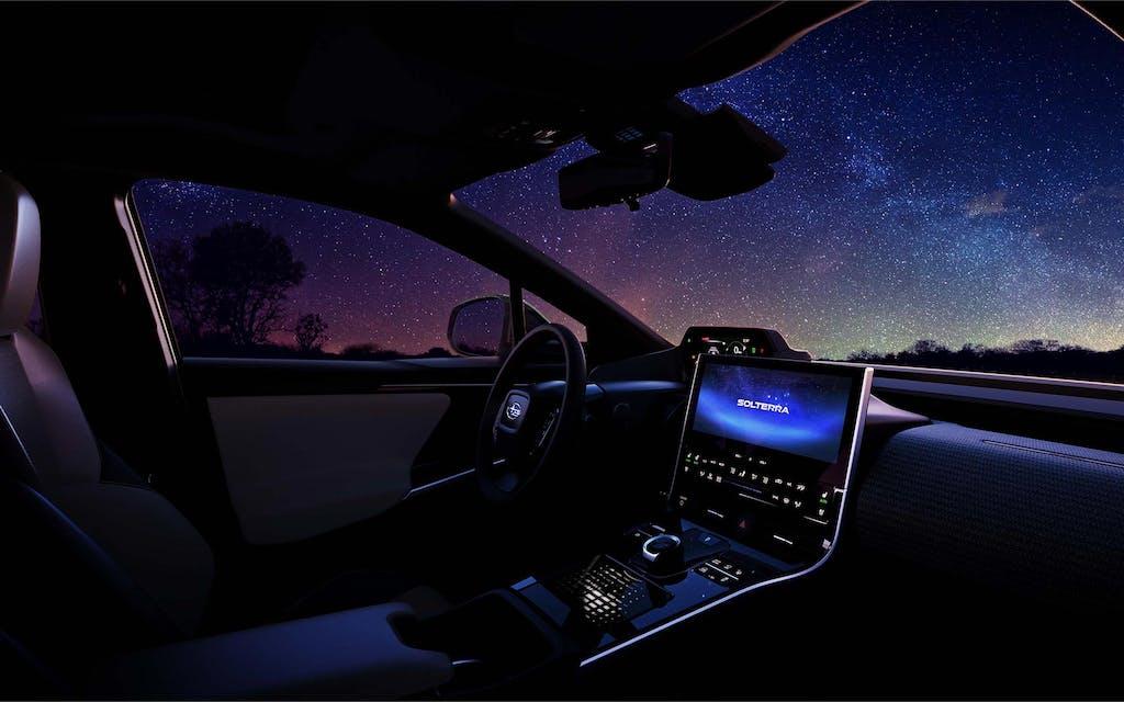 Subaru Solterra interni