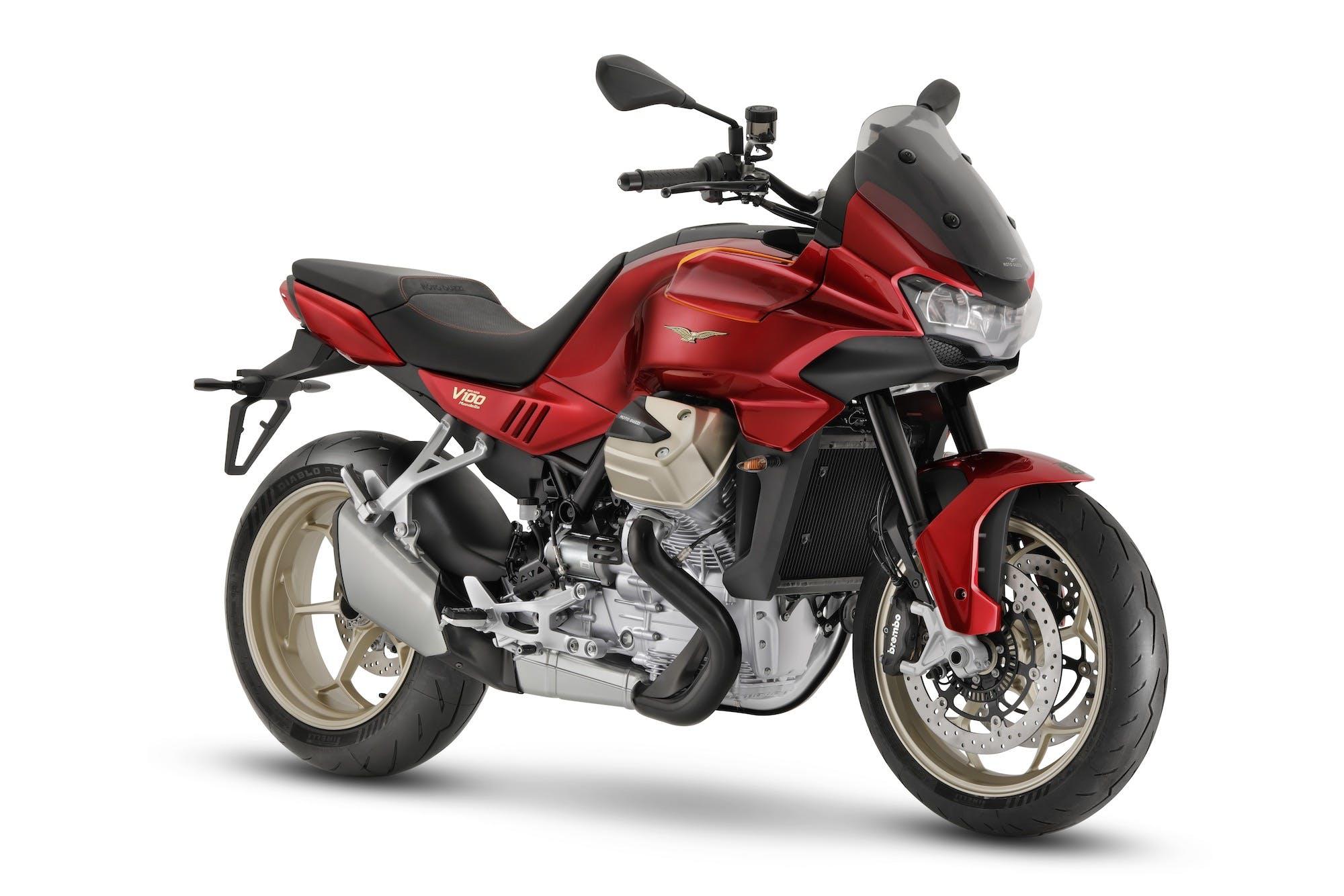 Moto Guzzi V100 Mandello rossa