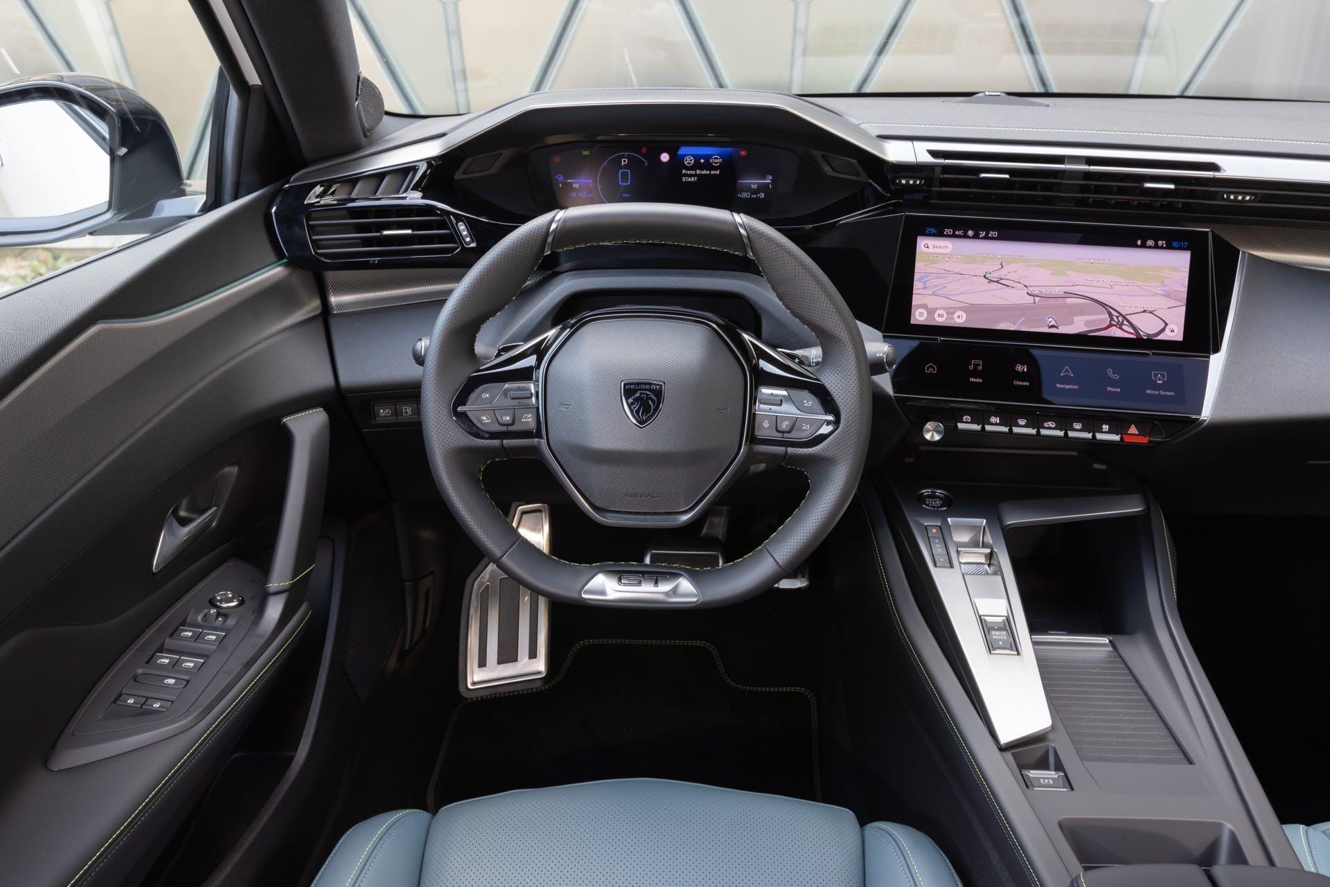 Peugeot 308 plancia i-Cockpit