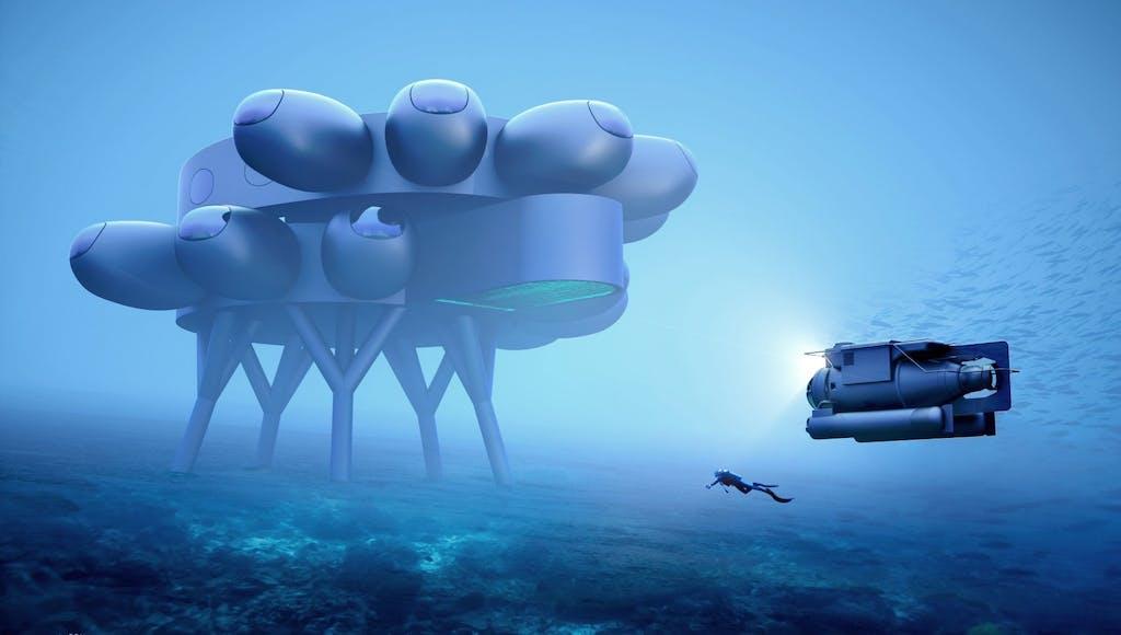 Proteus, la stazione spaziale degli abissi