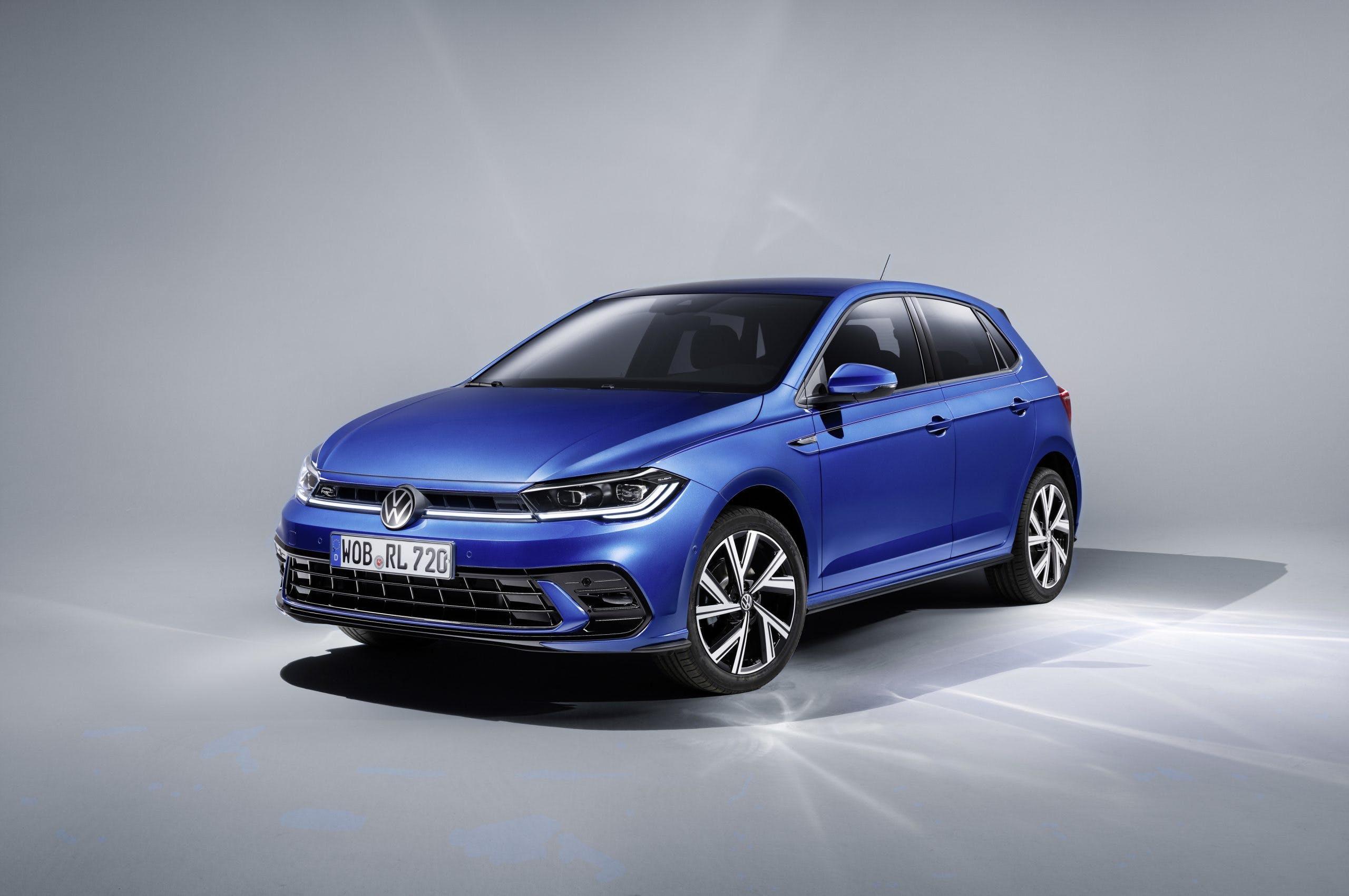 Nuova Volkswagen Polo - statica tre quarti anteriore