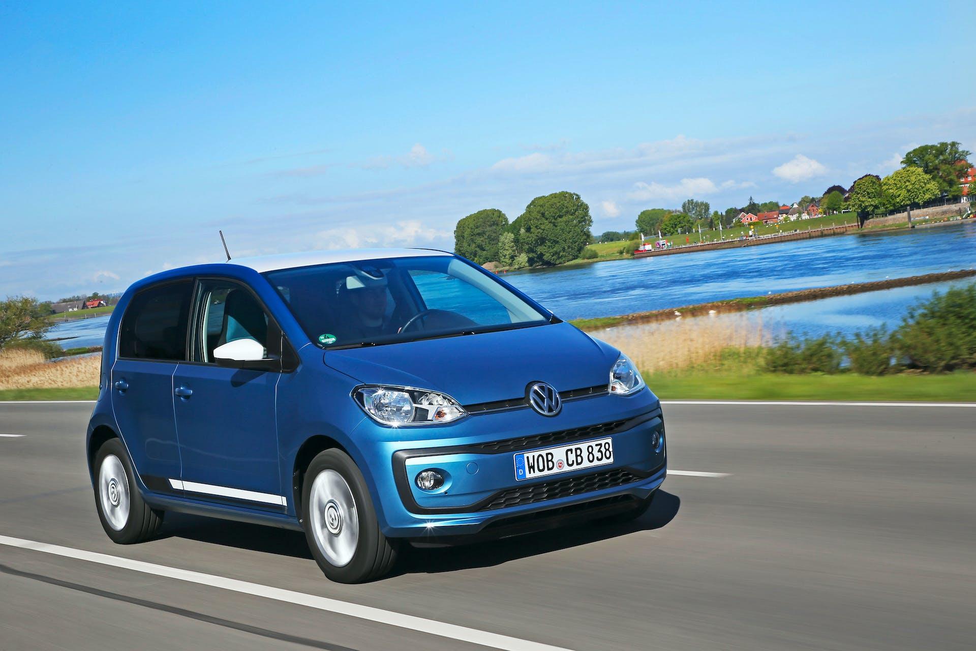 Volkswagen eco up! - dinamica frontale